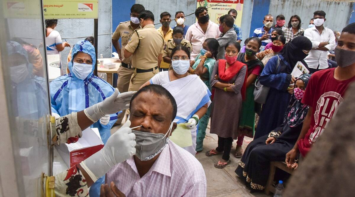 Lockdown unlikely in Telangana even as active Covid infections surge - The Indian Express