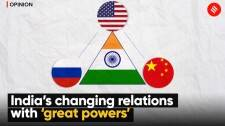 India and the great power triangle of Russia, China and US