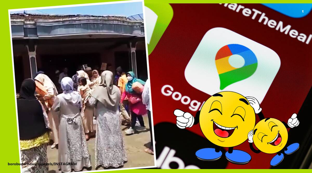 google map gaffes, man goes wrong wedding venue google map, man almost marries wrong bride, Indonesia bridal party goes to wrong home, viral news, odd news, indian express