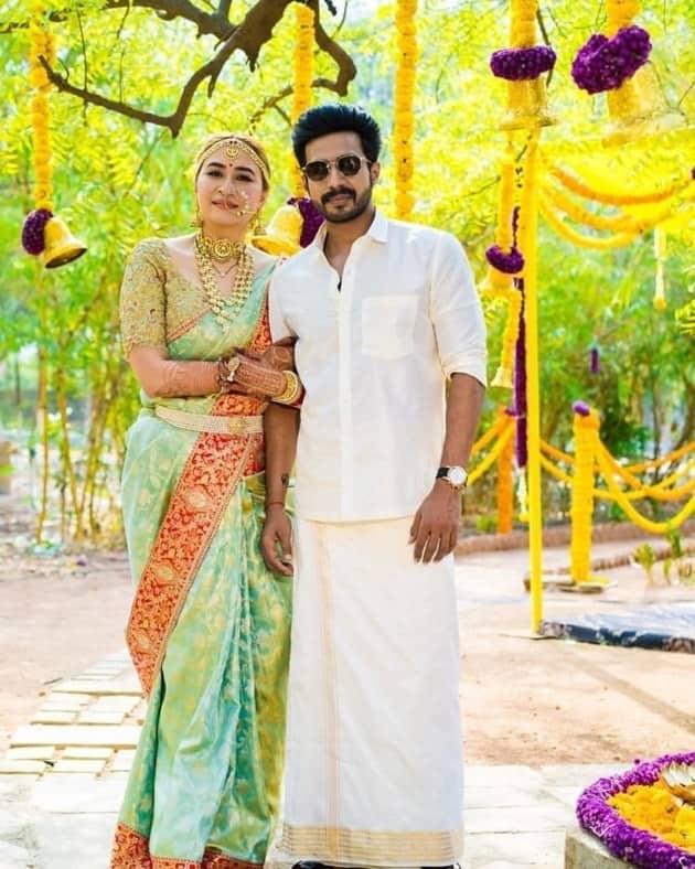 vishnu vishal jwala gutta wedding dress