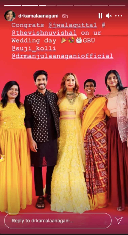 jwala vishal wedding