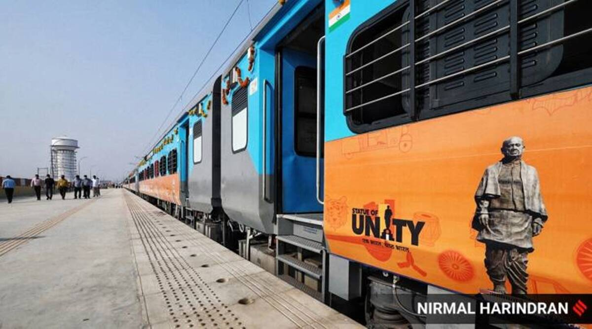 Covid Effect in Gujarat: Passengers few, trains to Kevadia suspended