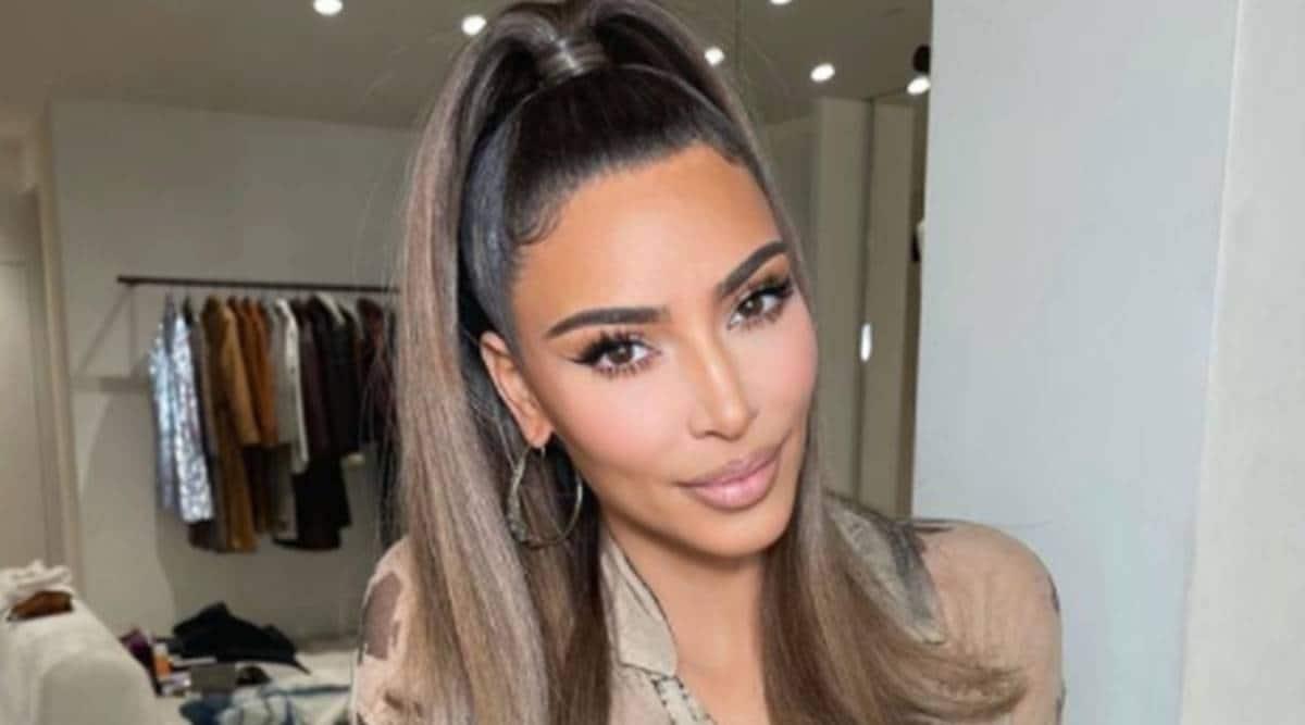Kim Kardashian, Kim Kardashian peta, Kim Kardashian peta rescue cow, Kim Kardashian, peta, indian express, indian express news