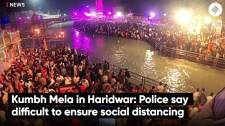 Kumbh Mela in Haridwar: Police say difficult to ensure social distancing