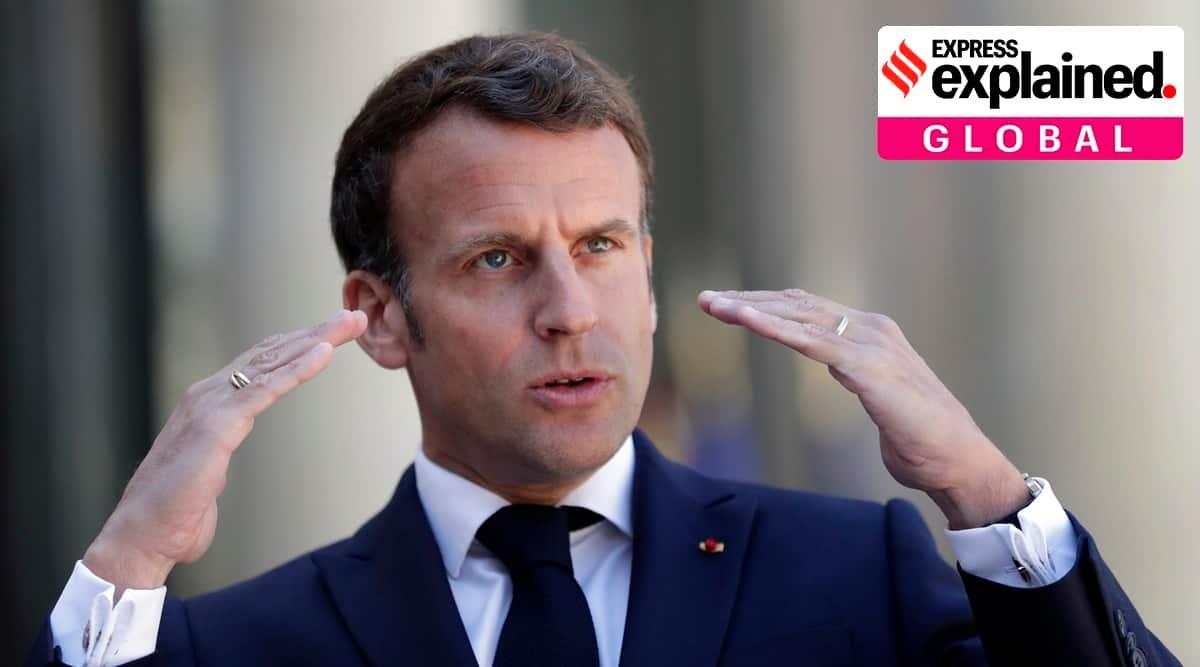 france military men letter, france generals letter civil war, Emmanuel Macron, marine le pen, france islam, france racism, express explained, indian express