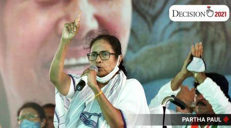 Mamata Banerjee, West Bengal Assembly Elections 2021, west bengal election, west bengal bjp, west bengal tmc, bjp winning chances in west bengal, india news, indian express