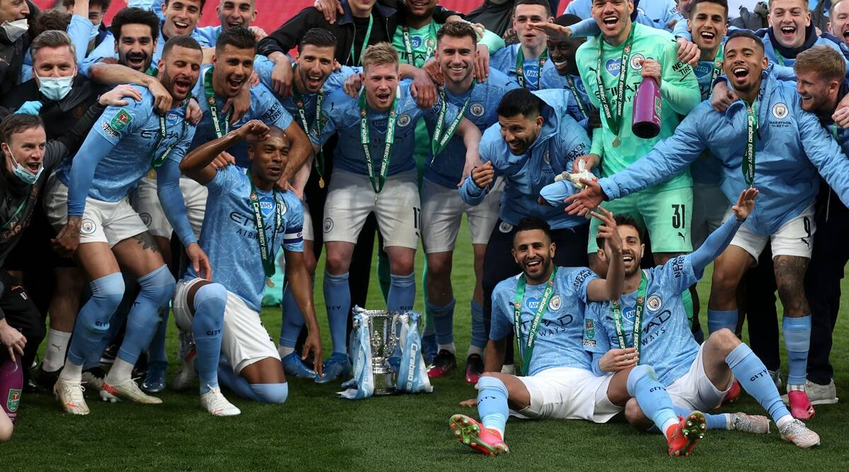 Aymeric Laporte header seals record League Cup triumph for ...