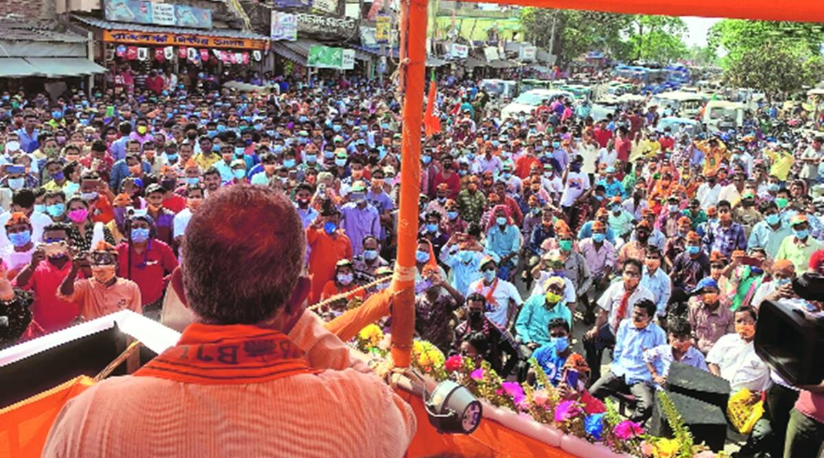 Mithun booked for violating Covid rules; TMC goes to EC