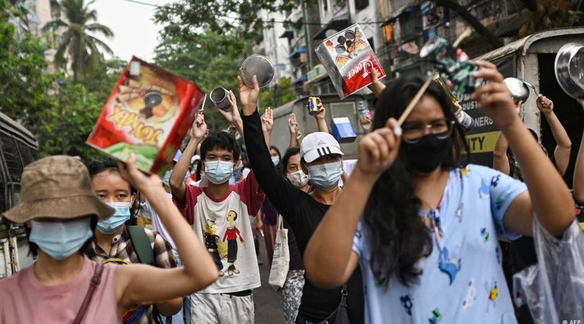 The battle for Myanmar plays out on Twitter, TikTok and Telegram