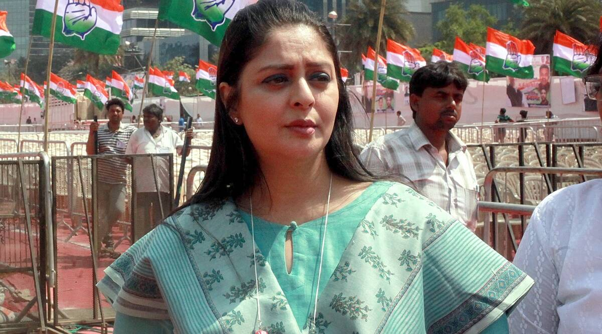 Nagma tests positive for COVID-19 after receiving first jab of coronavirus  vaccine | Entertainment News,The Indian Express