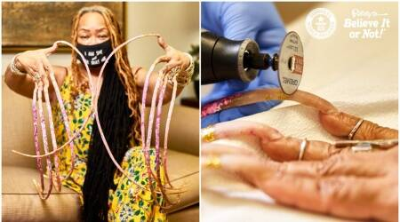 guinness world records for longest nails, longest nails, world's longest nails, guinness news, world record news, ripley museum, indianexpress.com, indianexpress,