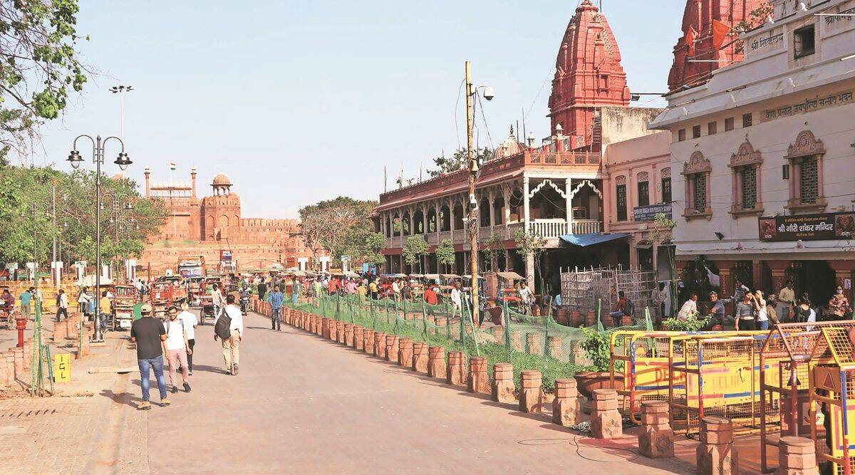 Chandni Chowk revamp done, CM to unveil 1.3-km stretch
