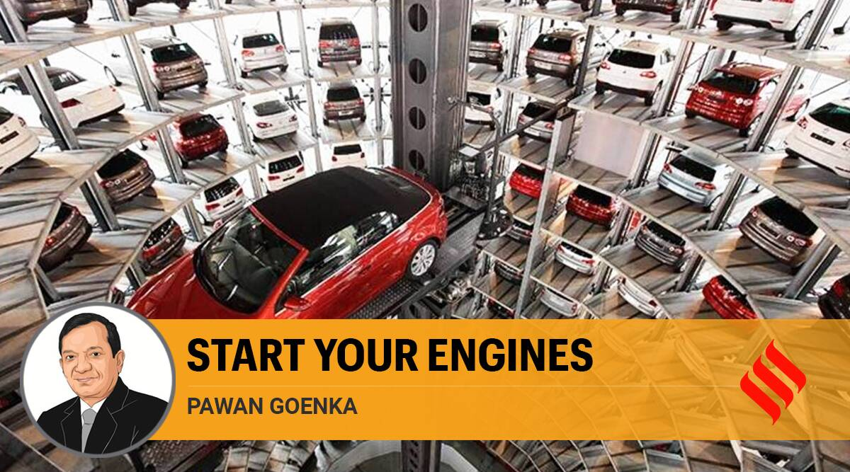 auto industry, india auto industry, indian economy auto industry, auto sales, automobile sector sales, covid 19 auto industry, auto results covid 19, Indian express opinion, Pawan Goenka writes