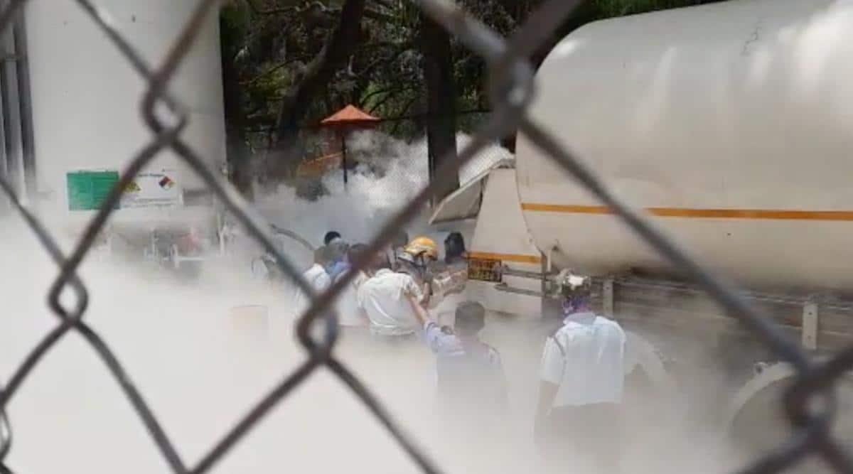 Oxygen tank leak in Nashik hospital kills 22, CM Uddhav orders high-level inquiry - The Indian Express