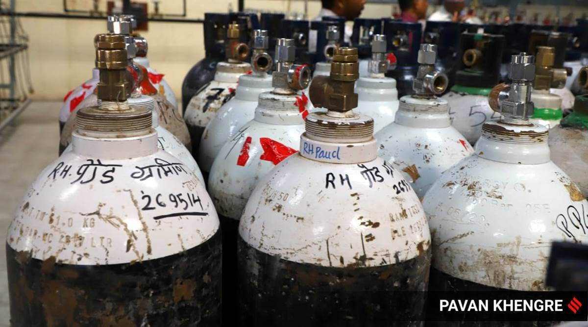 Pune youngsters, Pune news, Pune oxygen cylinders, Pune city news, Pune covid situation, Indian express