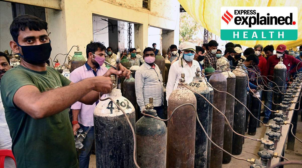 Covid-19, Coronavirus India, Covid-19 Oxygen, Oxygen level covid-19, coronavirus covid oxygen shortage, indian exprss news