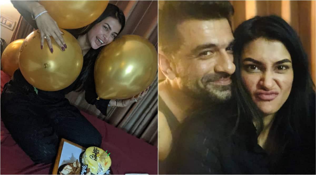 eijaz khan, pavitra punia birthday
