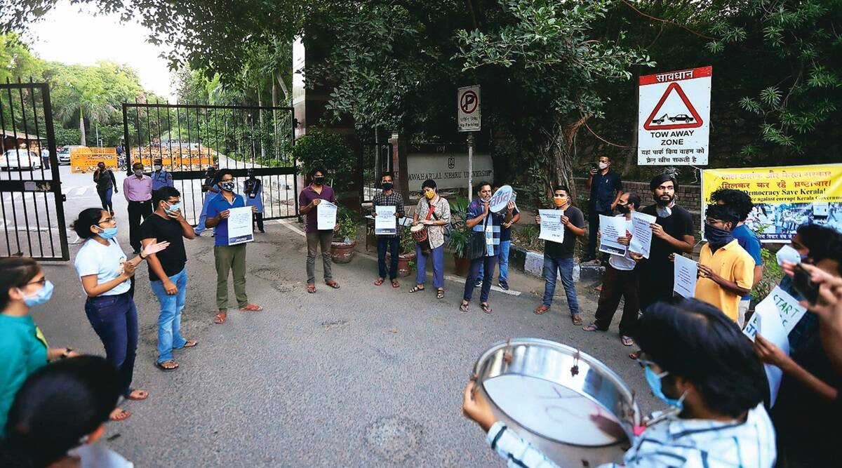21 active cases, JNU may revise phased re-opening