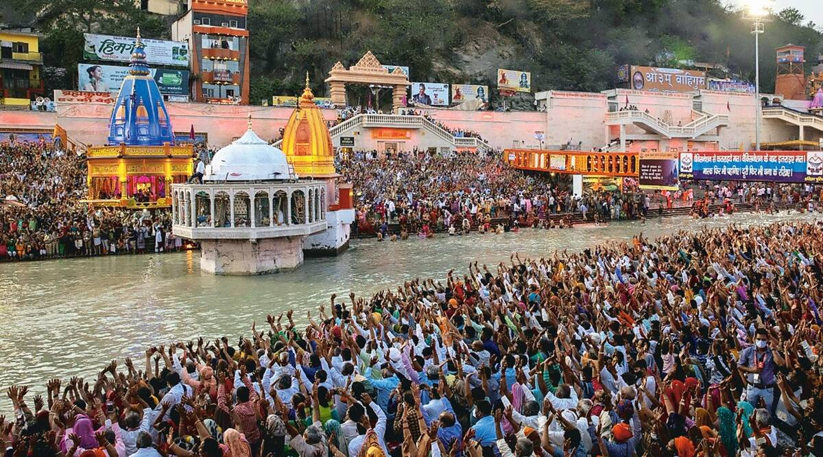 Very difficult to ensure social distancing at ghats: Kumbh Mela official