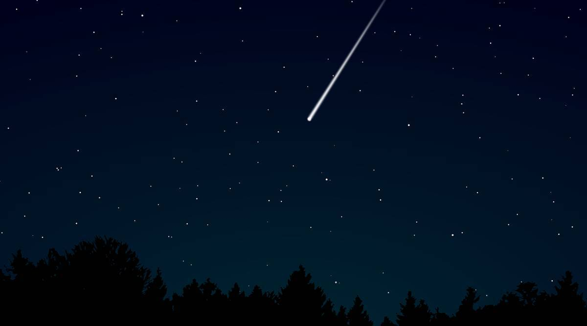 shooting stars, what are shooting stars, falling stars, are shooting stars really stars, space mysteries, a science teacher explains, parenting, indian express news