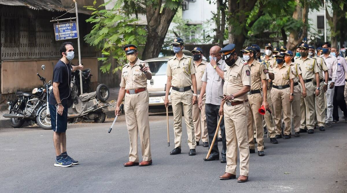 police, Covid-19 India second wave