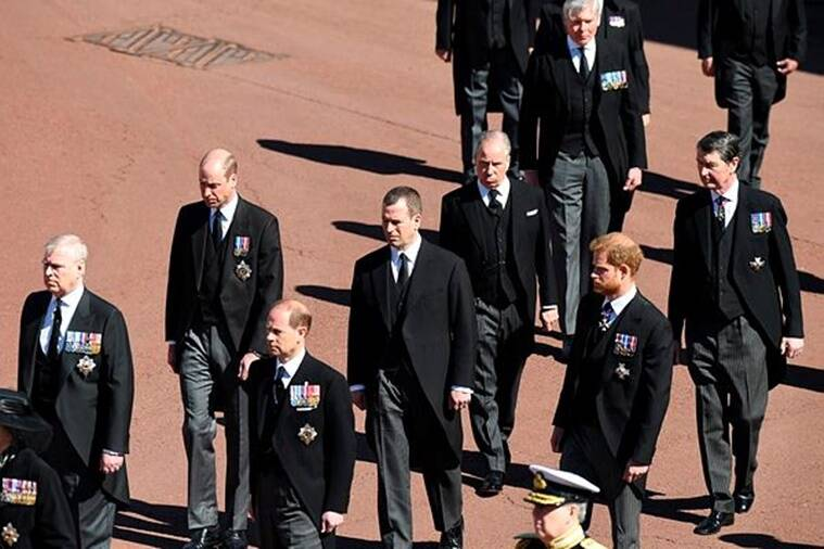 Prince philip funeral ceremony