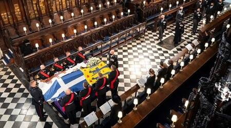Prince Philip interred at St Georges Chapel