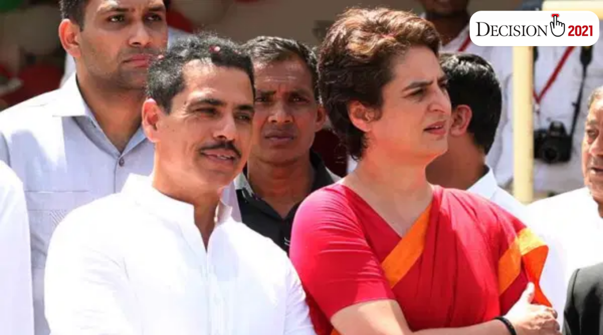 Priyanka Gandhi Vadra, Robert Vadra, Priyanka Gandhi corona, covid-19 cases, coronavirus cases in india, india news, indian express