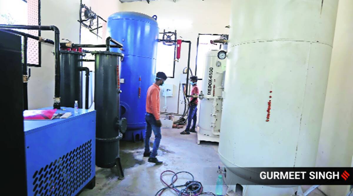 Punjab's oxygen refilling plants face supply shortage from HP, Haryana