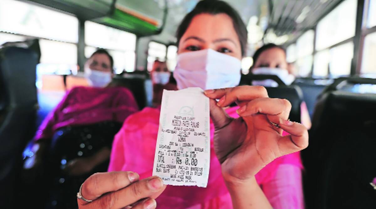 As Capt launches free travel for women in buses, AAP says 'poor copy' of Kejriwal scheme