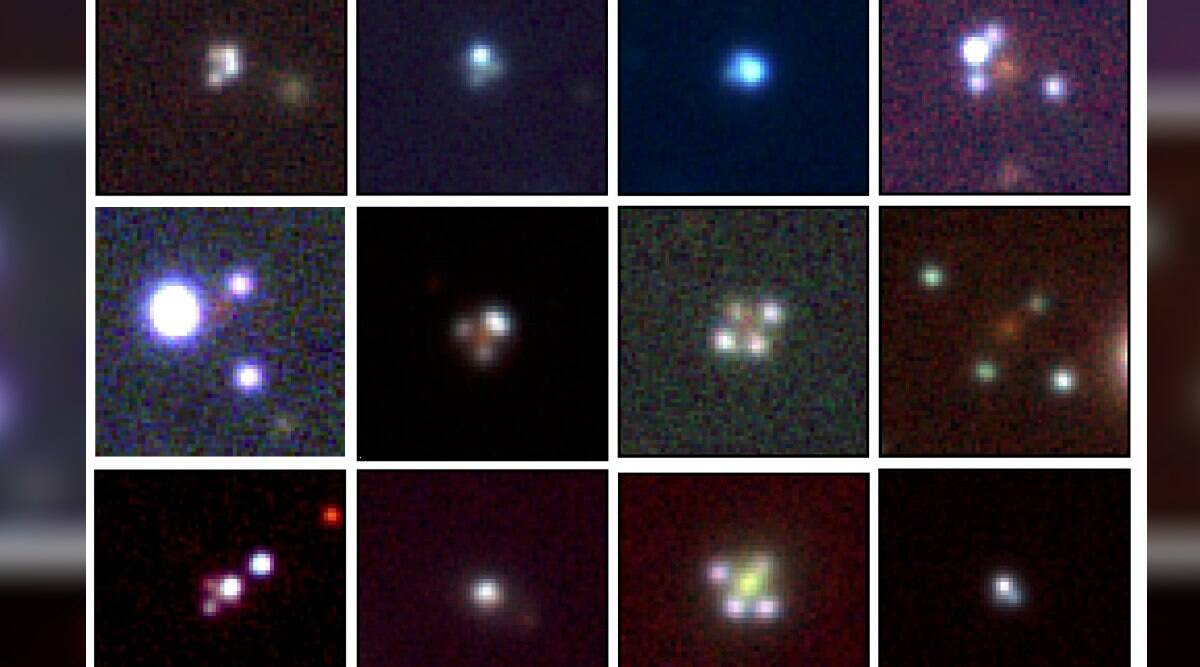Astronomers discover 12 rare quadruple quasars that can better tell rate of universe expansion thumbnail