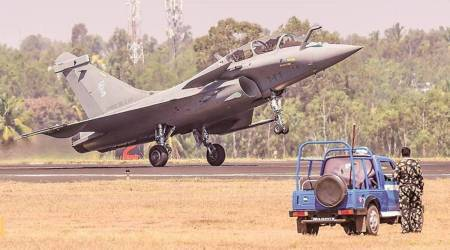 RKS Bhadauria, Rafale, France, Air Chief Marshal Bhadauria, Rafale deal, Rafale news, Rafale fighter jets, French Air Force, Indian air force, india news, indian express