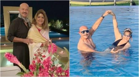 50th wedding anniversary rakesh roshan pinkie
