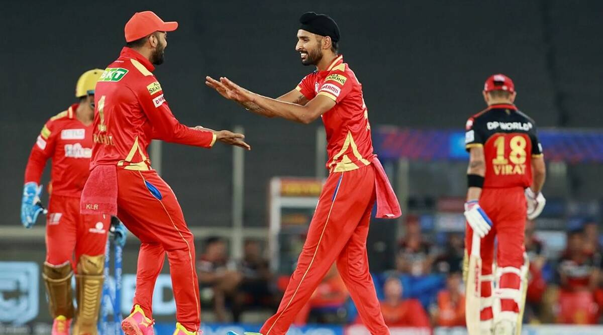 Harpreet Brar shines as PBKS use surprise weapon to tame RCB | Sports News,The Indian Express