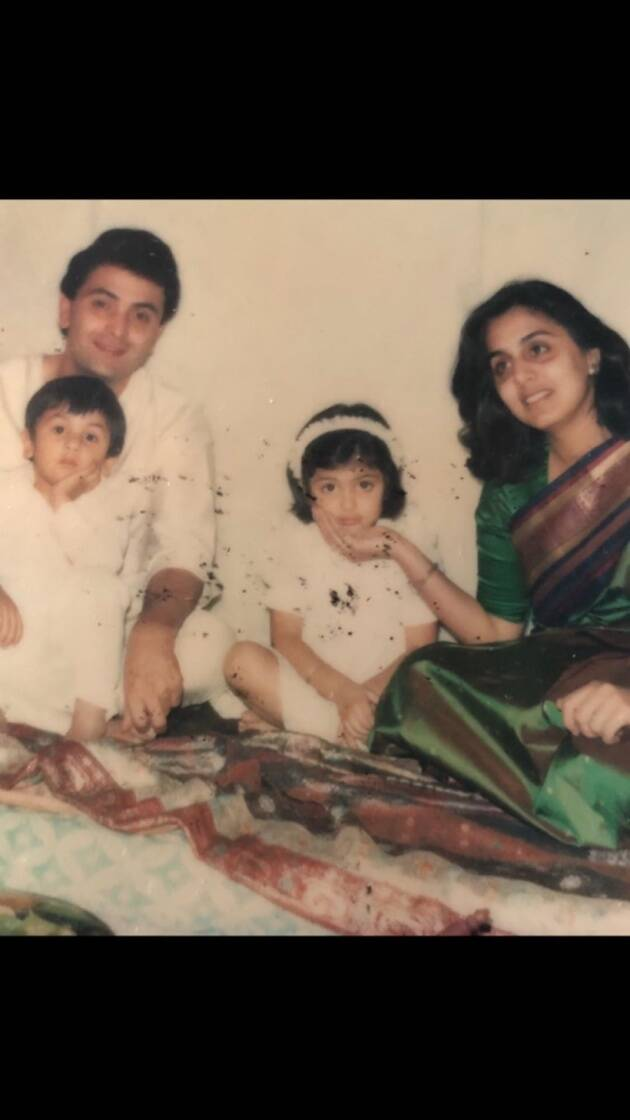 rishi kapoor family