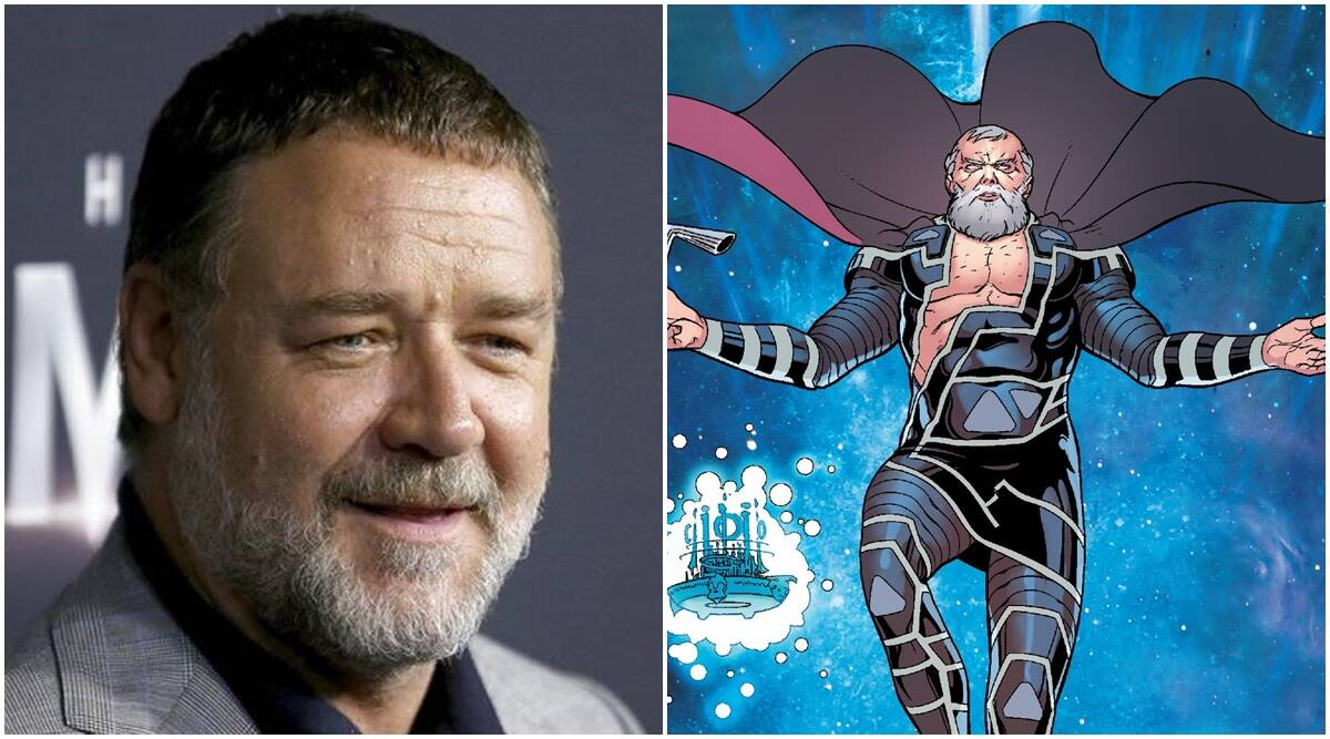 russell crowe, Thor Love and Thunder