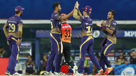 srh vs kkr, srh vs kkr ipl 2021, sunrisers hyderabad vs kolkata knight riders, KKR 100th ipl win, harbhajan singh kkr debut