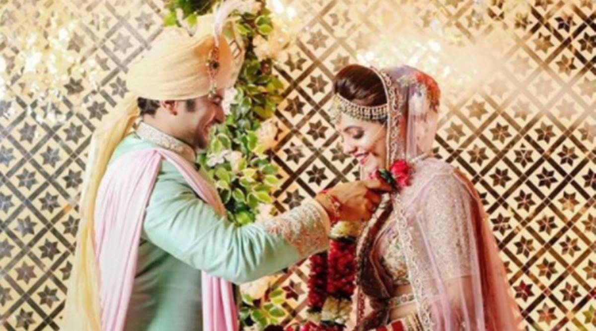 sugandha mishra sanket bhosle wedding