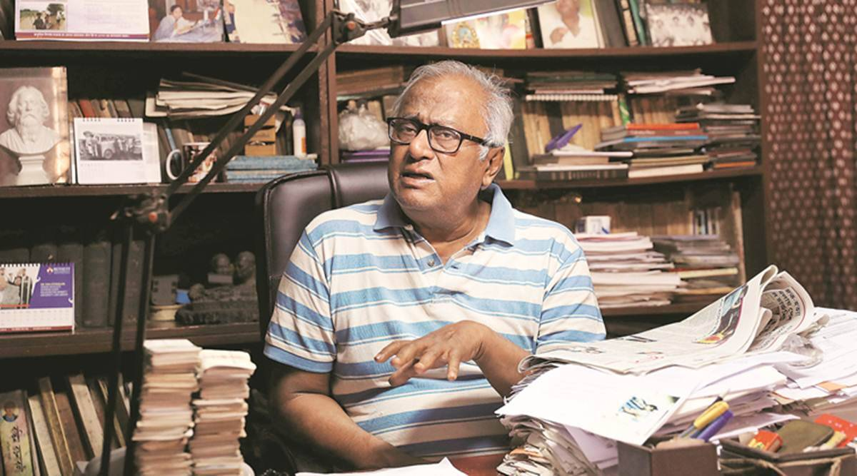 TMC MP Saugata Roy, Saugata Roy, West Bengal Assembly Elections 2021, election, BJP-led government, covid-19 cases in west bengal, india news, indian express