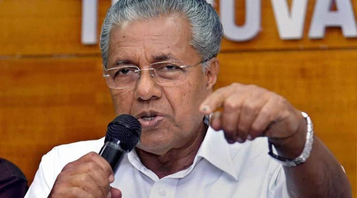 Kerala Chief Minister, Pinarayi Vijayan, Kerala hospitalization, Kerala news, Kerala coronavirus cases, Kerala covid-19 cases, india news, indian express