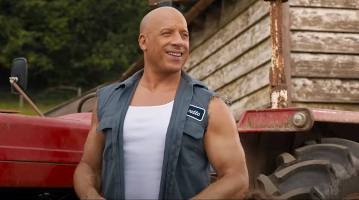 Vin Diesel Fast and Furious 9 stills