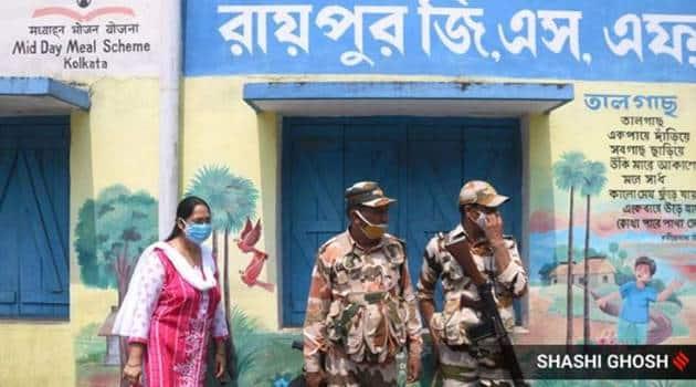 west bengal assembly elections, west bengal elections, phase four bengal assembly election, cooch behar violence, cooch behar, mamata banerjee, pm modi, indian express news