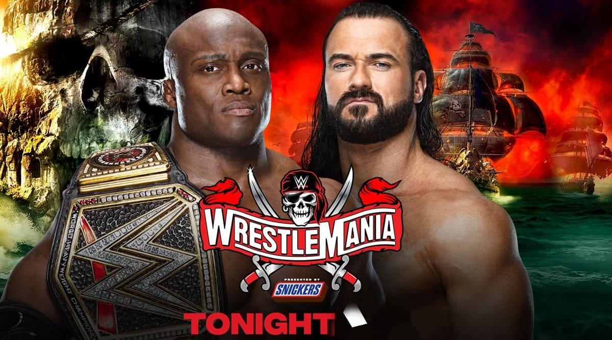 WWE WrestleMania 37 2021, Day 1 Live Updates: Bobby Lashley retains title