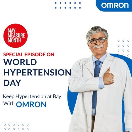 World Hypertension Day: Measure your BP, control it, live longer!