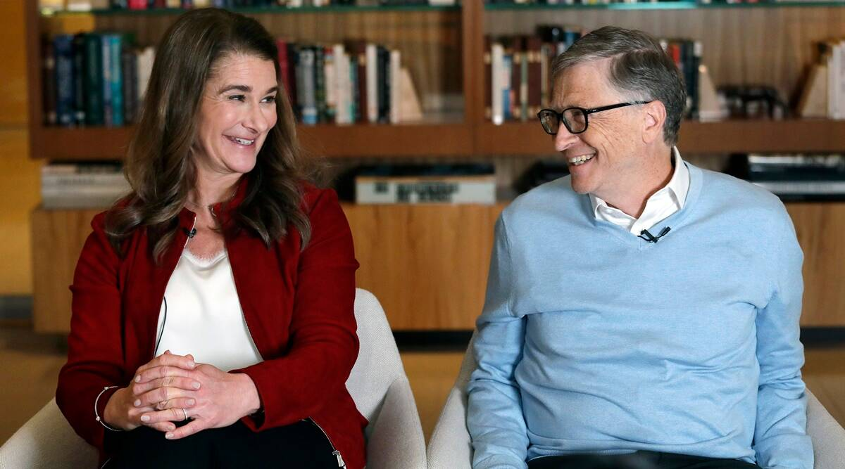 Bill Gates, Bill Gates divorce, Bill Gates Melinda gates divorce, Melinda Gates, Bill Gates, Bill Gates divorce, Bill Gates Melinda gates divorce, Melinda Gates timeline of relationship, Bill Gates, Bill Gates divorce, Bill Gates Melinda gates divorce, Melinda Gates indian express, indian express news