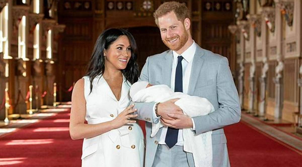 Baby Girl Sussex, Archie, Archie Harrison Mountbatten-Windsor, Meghan Markle, Prince Harry, parenting, introduction of siblings, transition, family, indian express news