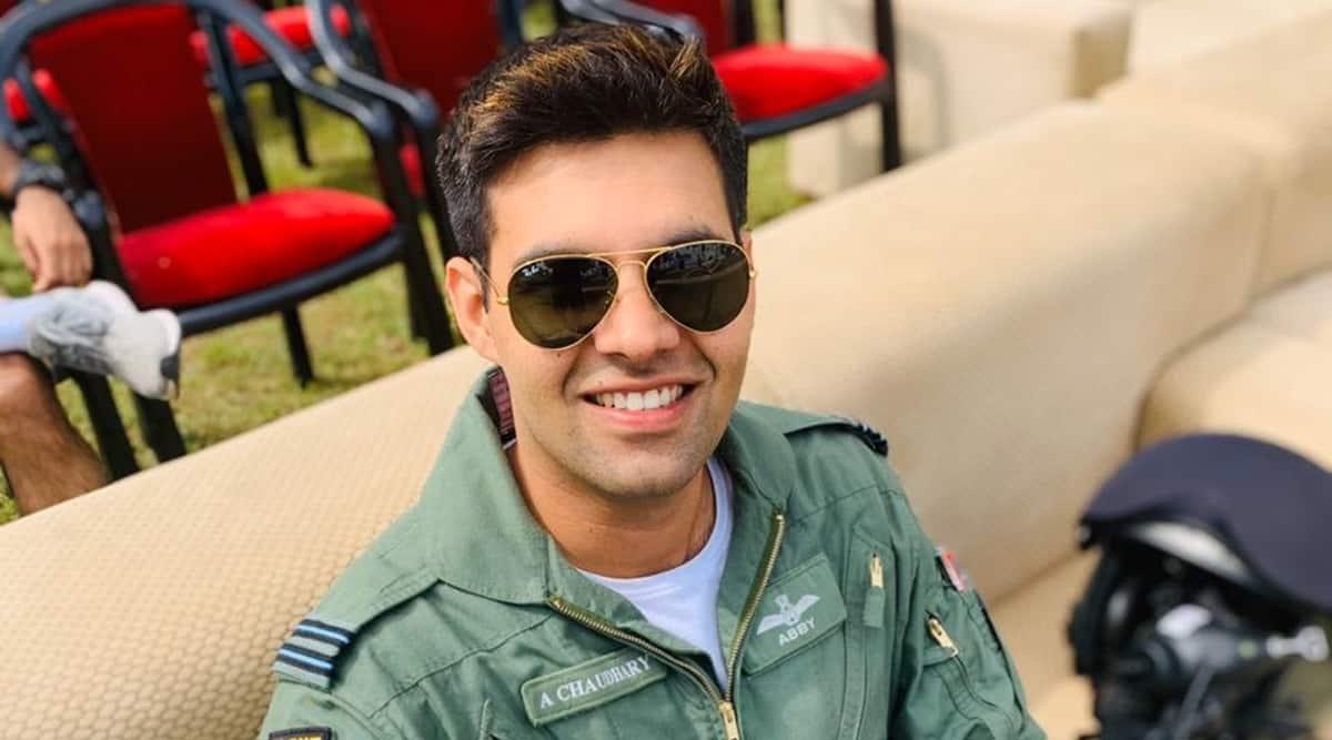 Abhinav Chaudhary, Abhinav Chaudhary Indian Air Force, Indian Air Force MiG 21 crash, MiG-21 Crash Punjab, Punjab MiG-21 IAF crash, indian express news