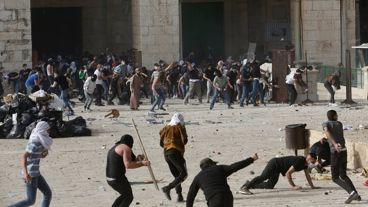 Jerusalem clashes, Israel-Palestine conflict, Al-Aqsa Mosque clashes, Israel news, Israel police, world news,The Indian Express news