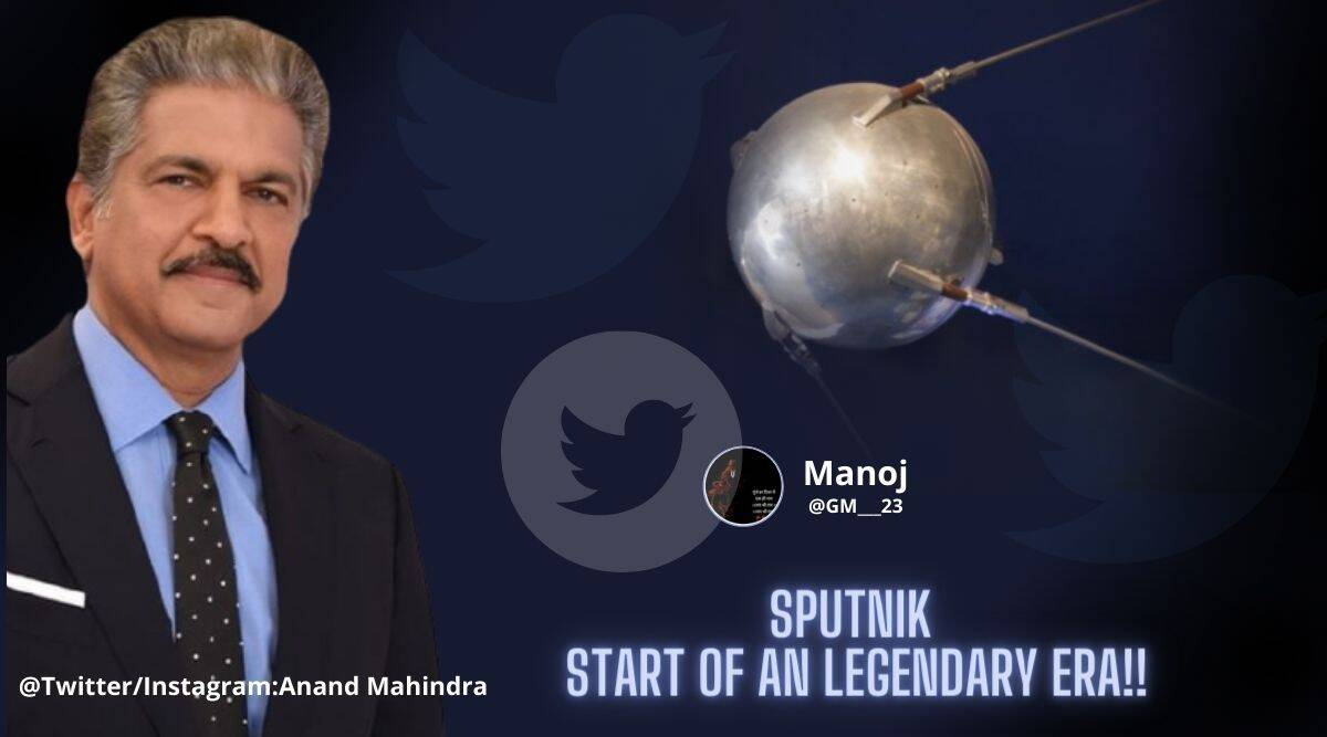 Anand Mahindra, Sputnik, Anand Mahindra twitter, Sputnik vaccine, Sputnik satellite, Sputnik vaccine memes, Sputnik v vaccine, Covid-19 updates, Sputnik v vaccine price, Covod-19 India second wave, Trending news, Indian Express news