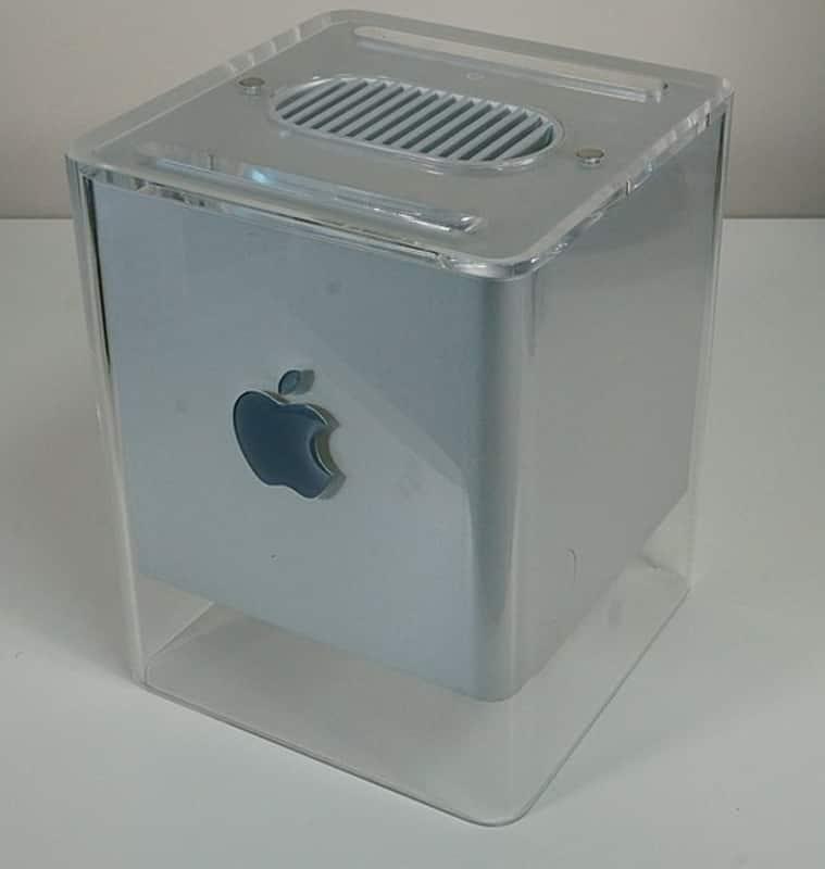 Apple, Apple Macs, Apple vintage Macs, iMac G3, iMac G4, eMac, Power Mac G4, Apple Cinema Display, altavoz Apple iSub, altavoces Apple Pro, historia de Apple